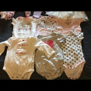 Babygirl lot of clothes